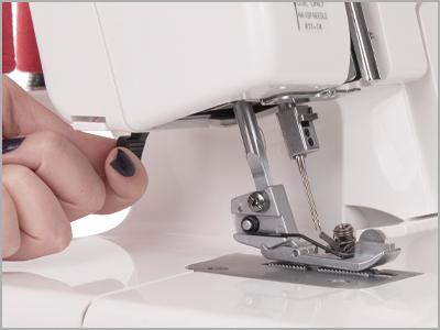 Alavanca de elevação do calcador da máquina overlock Janome 7933D