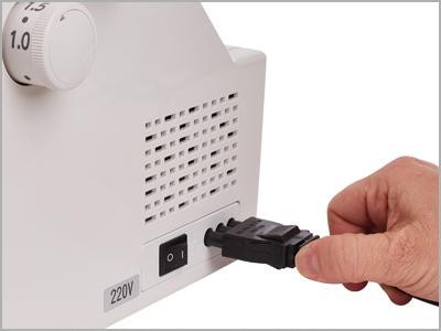 pedal de controle de encaixe facil 2000cpx
