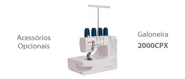 Acessórios para máquina Galoneira 2000CPX