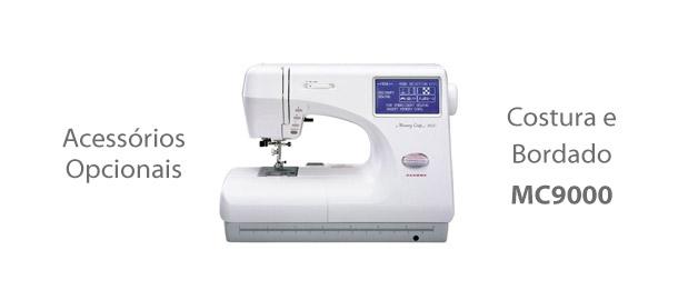 Acessórios para Máquina de Costura e Bordado MC9000