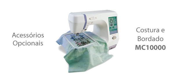 Acessórios para Máquina de Costura e Bordado MC10000